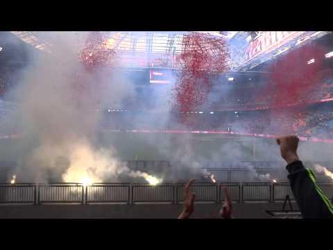 Afscheid Siem de Jong na Ajax - Psv (24-8-2014)