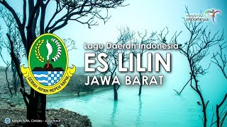 Es Lilin - Lagu Daerah Jawa Barat (Karaoke, Lirik dan Terjemahan)
