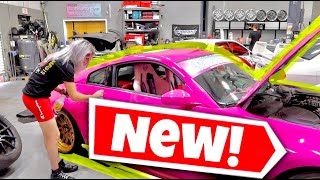 NEW LIVERY REVEAL! The Drift Barbie 350z