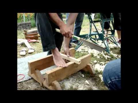 Japanische for Holzverbindungen herstellen