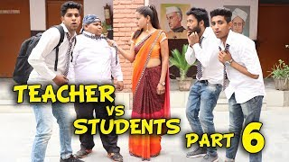 TEACHER VS STUDENTS PART 6   BakLol Video  