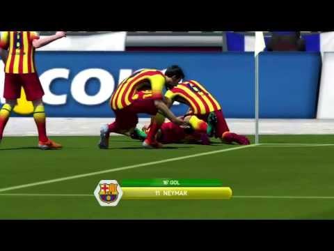 Fifa 2014 - Cruzeiro vs Barcelona
