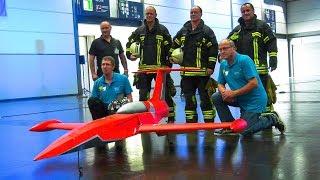 INDOOR FLIGHT RC MODEL TURBINE JET 2,6 KG LIGHTWEIGHT!! / Messe Modell Leipzig 2017