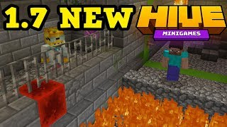 Minecraft 1.7 Update - Trying The 3 Secret New MiniGames