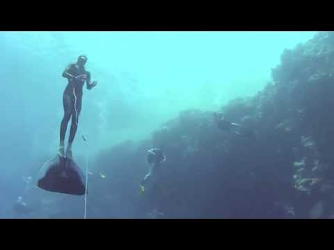 50m Freediving (cwt) in the BlueHole in Dahab