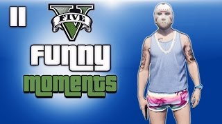 GTA 5 Online Funny Moments Ep. 11 (Beach Bum DLC, Random Fun)