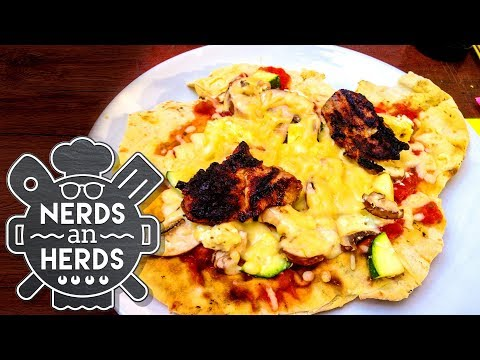 Grill-Spezial: Cheeseburger gegen Pizza vom Grill   Nerds an Herds