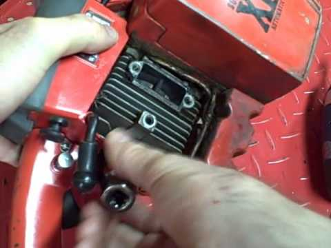 Small Engine Repair: Homelite Chainsaw Compression Test Piston Rings Cylinder Damage