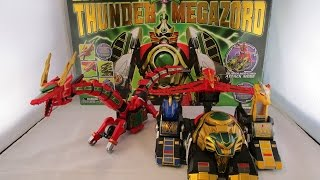 Legacy Thunder Megazord Review (Mighty Morphin Power Rangers)