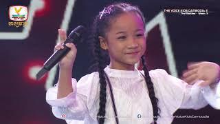 សុជាតា & ស្រីរ័ត្ & ទិត្យផល្លី - ឈប់ (The Battles Week 3   The Voice Kids Cambodia Season 2)