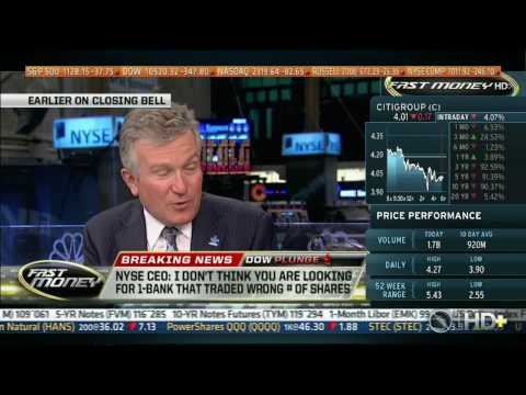 CNBC, 05/06/10, Guy Adami, retail investor losing confidence, playing field not level (Dow 10,520)