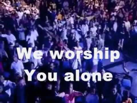 Alpha and Omega Worship Video with Lyrics