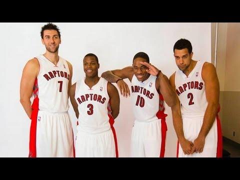2013 Toronto Raptors highlights - Rudy Gay, Terrence Ross, Demar Derozan!