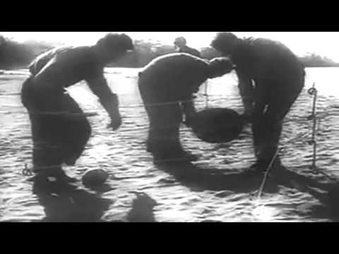 November 1942 Newsreel: Guadalcanal; USS Boise (CL-47); Patton in North Africa, etc (full)
