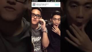 LIVE Seventeen - Menunggu Kamu di Bigo Live KEREN diakhir videonya Lucu
