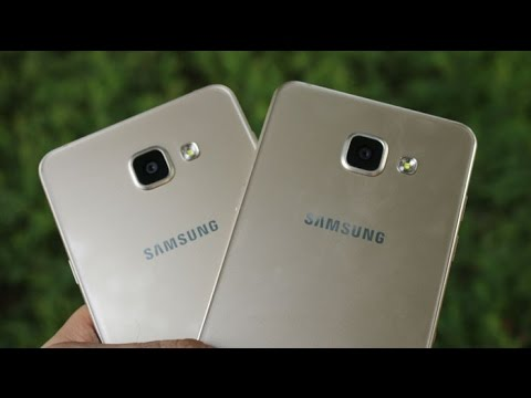 Samsung Galaxy A5 vs A7 (2016) Speed, Camera Review, Full Comparison