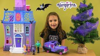 Vampirina Movie Story with Vampirina Fangtastic Friends and Family and Vampirina Theater Car
