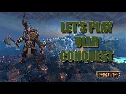 Smite - Let's Play Ullr in Conquest | Full Gameplay PS4