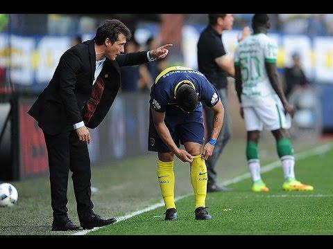 Barros Schelotto desconoció una reunión entre jugadores y barras