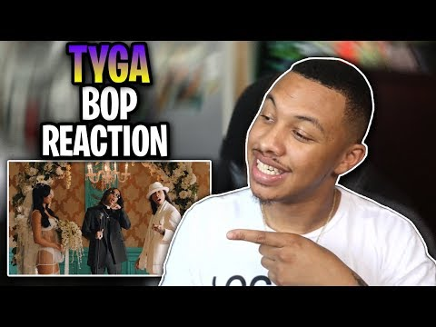 Tyga, YG, Blueface - Bop (Official Video) Reaction/Review Video