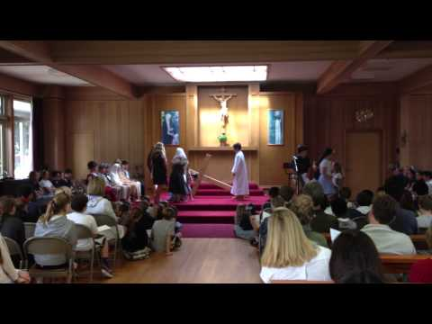 "San Domenico School 4th Grade ""Stations of the Cross"" (Easter 2014) - 04/12/2014"