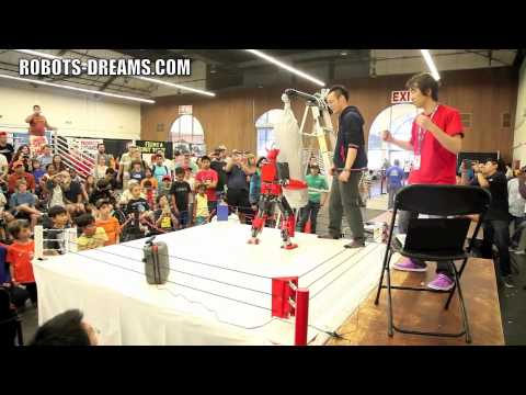 RoboGames 2012: Real King Kizer Demonstration - Team Japan