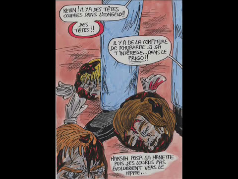 SLG comics #8- Frustrations sexuelles (fin) + le geek chez un mercenaire
