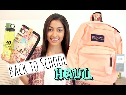 Back To School Supplies Haul 2014-15 + HUGE GIVEAWAY