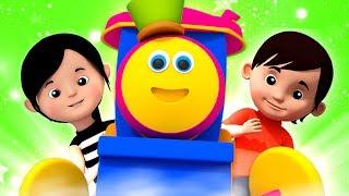 Kids Tv Português - Bob as canções infantis do trem para bebês   vídeos de desenhos animados
