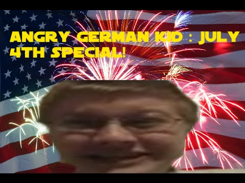 Angry German Kid : July 4th Special (us Fireworks!) video