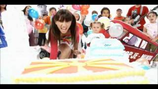 FYR Macedonia JESC 2010: Anja Veterova - Eooo, Eooo (English version)