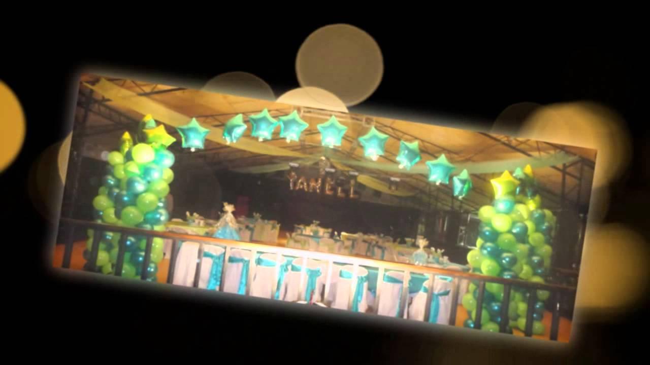 Decoraciones de salon bodas 15 a os etc arkansas youtube - Decoraciones para salones ...