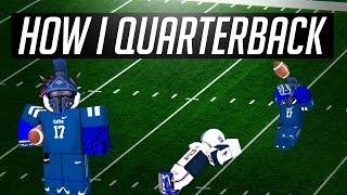 HOW I QUARTBERBACK [Tutorial Legendary Football ROBLOX]