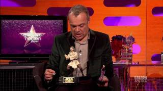 LIAM NEESON & PATRICK STEWART: Battle of the Action Figures (The Graham Norton Show)