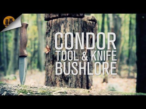 Condor Tool & Knife Bushlore Bushcraft Knife