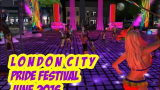 Pride 2016 at London City (in Second Life)