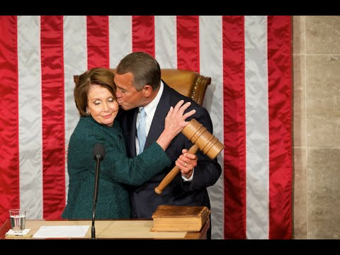 John Boehner Kisses Nancy Pelosi