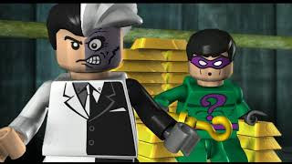 LEGO Batman: The Videogame Прохождение - Часть 5 - ДВУЛИКИЙ И РИДДЛЕР