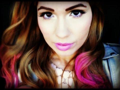 Maquiagem e Cabelo da Demi Lovato
