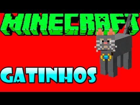 Mo' Creatures - MINECRAFT: Domesticando Gatas =]
