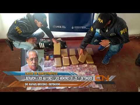 Liberaron a cuatro detenidos vinculados a la causa de Narcotrafico Francia Brun