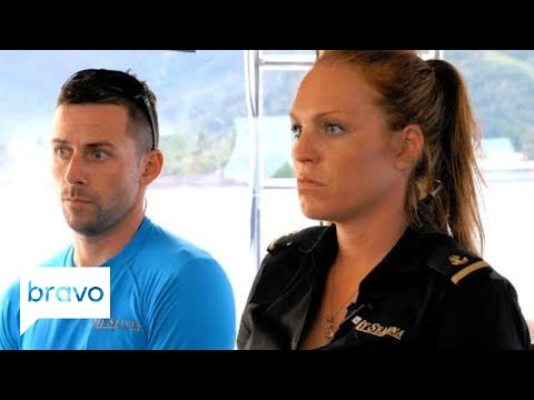 Captain Lee Is Making Some Changes To The Deck Crew | Below Deck: Season 6, Episode 7 | Bravo