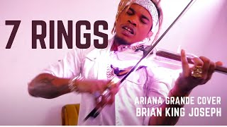 7 Rings - Ariana Grande - CRAZY VIOLIN REMIX - Brian King Joseph