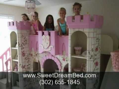 0 Girls Room Decor, Girls Bedroom Furniture, Girls Canopy Bed, Girls Princess Castle Beds