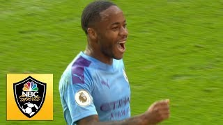 Raheem Sterling puts ManCity ahead v. Tottenham | Premier League | NBC Sports