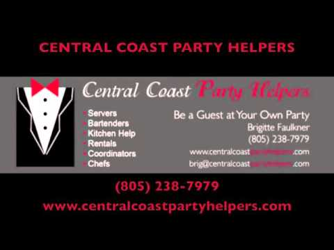Central Coast Party Helpers - Bar & Wait Staff Santa Barbara CA