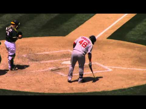 Pablo Sandoval Returns to Bay Area -  Boston Red Sox vs Oakland A's 2015