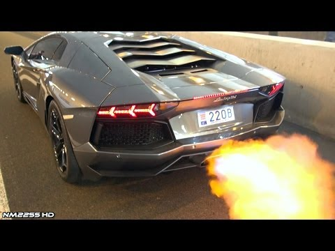 Lamborghini Aventador Shooting Huge Flames How To Make Amp Do Everything