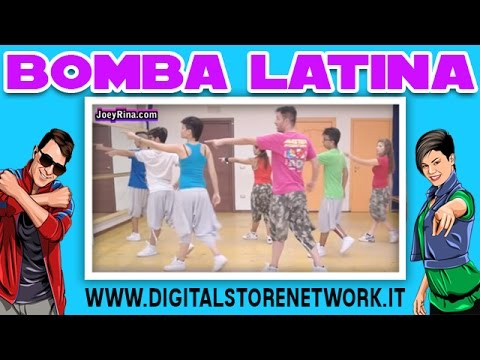 "Joey&Rina "" Bomba Latina "" || Impara i Passi || Balli di Gruppo 2014/2015 Line Dance"