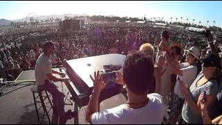 On stage at Stagecoach